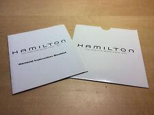Used - Booklet HAMILTON General Instruction Booklet - Instruction Manual - Usado