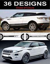 Range Rover Evoque Seite Leiste Aufkleber Seite Leiste