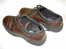 Men's Dockers X-Lite Leather Casual Laced Shoes/9M/Brown/Very Good Condition