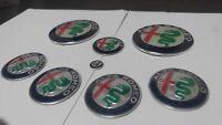 Kit completo loghi Nuovi Giulia 2016 Alfa Romeo MiTo 147 156 GT CONSEGNA 48 ORE