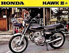 1979 HONDA CB400T II HAWK II MOTORCYCLE BROCHURE -HONDA CB 400 T II HAWK=CB400