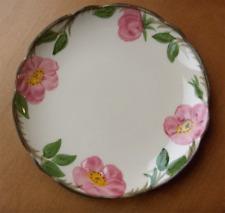 Franciscan Desert Rose RARE coupe dessert plate #2~1970's~Made in California-NR