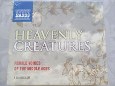 Heavenly Creatures Female Voices of the Middle Ages - Summerly - 3 CD Neu NEW