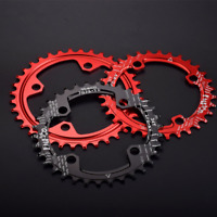 Bike Narrow Wide Chainring BCD Oval Round Shape Single Chain Ring 32T 34T 36T38T