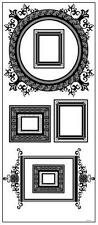 Assorted Family Picture Frames Wall Decals Removable Vinyl Stickers Mural Decor
