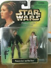 STAR WARS PRINCESS LEIA COLLECTION | LEIA & HAN SOLO | KENNER 1997