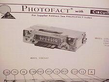 1976 DODGE DEMON DART SWINGER PLYMOUTH DUSTER SCAMP AM-FM RADIO SERVICE MANUAL