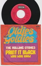 The ROLLING STONES * Paint It Black * 1978 German RE 45 * Listen!
