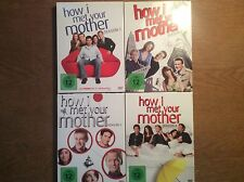 How I Met Your Mother - Season Staffel 1 + 2  + 3 + 4 [ 12 DVD ]