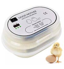 GOOD MOTHER Egg Incubator 9-12 Eggs [Fahrenheit] Mini Fully Automatic Incubator
