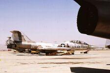 Original colour slide  TF-104G  66-13625  58 TTW  1981