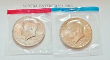 1972 P & D Kennedy Half Dollar Set (2 Coins) *MINT CELLO*  **FREE SHIPPING**