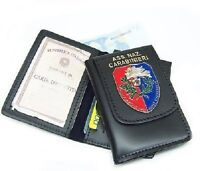 Portafoglio Vega cuoio 1WD125 associazione nazionale carabinieri A.N.C. + placca