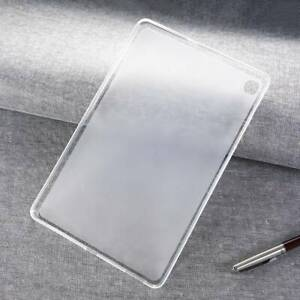 For Samsung Galaxy Tab Soft Silicone TPU Transparent Slim Case Shockproof Cover