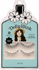 "Pestañas postizas Koji Dolly Wink produjo Dolly ""natural"" No.9 de Japón"
