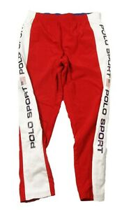 Polo Sport Ralph Lauren Men's Red/White Freestyle Track Pants