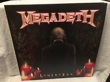 MEGADETH Thirteen Th1rt3en black vinyl 2lp double gatefold