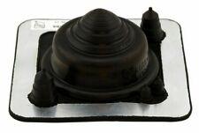 Dektite ROOF FLASHING 139x139mm Base, Suits 5-55mm Pipe, Black EPDM