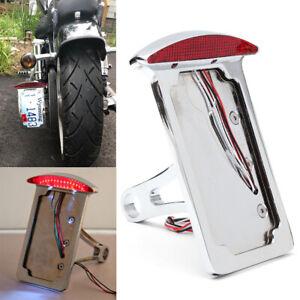 Motorcycle License Plate Holder Bracket Mount Brake Light for Harley Davidson IA