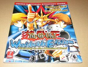 Yu-Gi-Oh! Worldwide Edition Strategy Guide for Game Boy Advance