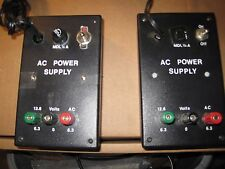 Ac power supply 6.3 & 12.6 volts