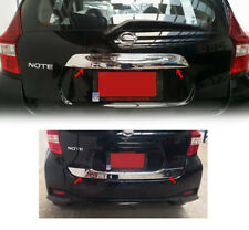 Fit For Nissan Note 2017 Rear Center Trunk Lid Liftgate Upper+Lower Cover Trim