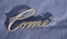 1971 1972 1973 Mercury Comet Chrome Fender Emblem Script 1 Stud Broke