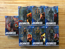 G.I. Joe Classified Series 6-Inch Snake Eyes Duke Cobra Commander 7 Fig Lot NIB