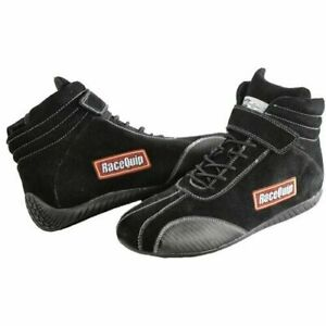 RaceQuip 30400912 305 Series Black 12 Euro Carbon-L Youth Racing Shoes