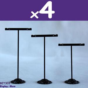 Earring Holder Stand Black METAL T-Shape   12pcs   BEST Value   AUSSIE Seller