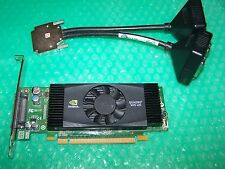 PNY NVS420 512MB PCI-e x16 Quad Monitors Graphics Card + Quad DVI cable