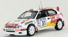 TOYOTA COROLLA WRC #31 RALLYE FINLANDE 2000 SOLBERG PEDERSEN IXO RAC148 1/43