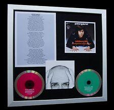 PETER GABRIEL Solsbury Hill LTD TOP QUALITY CD FRAMED DISPLAY+FAST GLOBAL SHIP!!