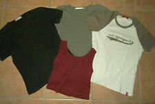 4 Damen T-Shirt Top S 34-36-38 Kurzarm-Shirt edc-by-esprit Clockhouser Konvolut