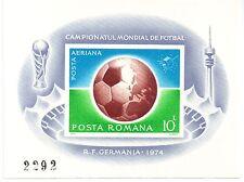 Romania 1974 sg 4088x Sport sheet MNH [Restricted Printing]