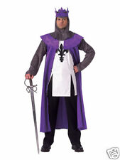 Renaissance King Medieval Knight Deluxe Adult Costume