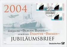 Deutsche Post - Jubilaumsbrief 2004 - Dampfer Bremen (074)