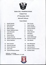 B48 Stoke City v Sheffield United 08/12/14 PDL Under 21's League Cup
