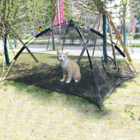 Pet Dog Puppy Cat Happy Habitat Playpen Indoor Outdoor Patio Mesh Tent Playhouse
