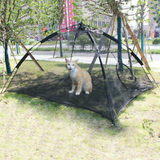 Portable Pet Tent Cat Dog Patio Enclosure Cage Happy Habitat - One Step Assembly