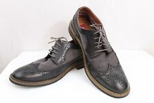 MENS METRO CHARM BLACK OXFORDS SIZE 12