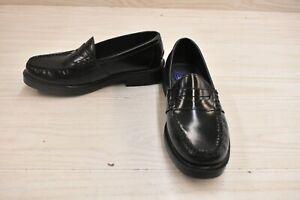 Nunn Bush Lincoln 85538-001 Penny Loafers, Men's Size 7 M, Black Leather