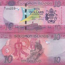 SOLOMON ISLANDS.2017.10 DOLLARS.UNCIRCULATED.(R)