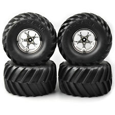 4X Rubber Tires&Wheel Rims 135mm 03S For HSP HPI RC 1:10 Bigfoot Monster Truck