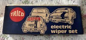 Cortina/Escort/Viva/Simca etc Trico Windscreen Rear Elecric Wiper Set EW64A