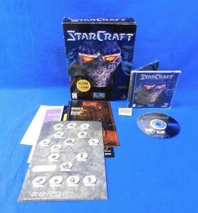 StarCraft for PC w/ Original Box Blizzard Entertainment 1998