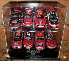 Nascar Coca Cola C2 Executive Display Set 8 Autographed 1:24 Cars Very Rare Mint