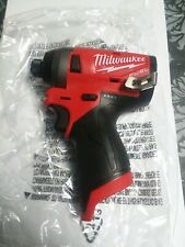 Milwaukee 2553-20 1/4-Inch M12 FUEL BRUSHLESS Hex Impact Driver New (Tool Only)
