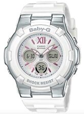 Casio Baby-G * BGA110BL-7B Blooming White Gloss Resin for Women COD PayPal