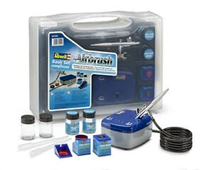 Revell 39199 - Accessory - Airbrush Starter Set With Compressor - New